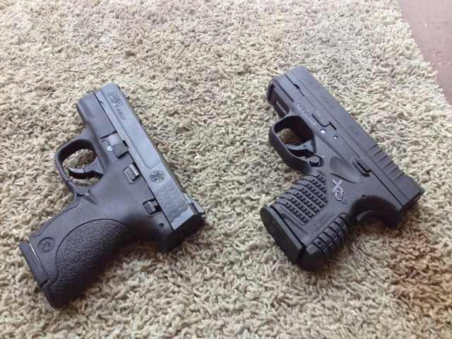 M And P Shield Vs Xds The Ultimate Carry Gun XDs vs