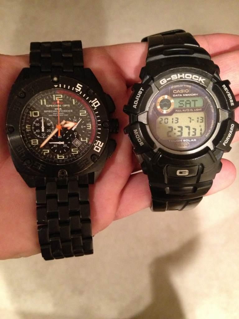 What watch do you wear