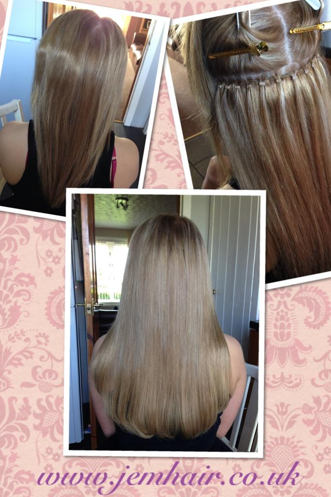 Before and after hair extensions page 23 salongeek 16 micro ring weft 9786 love it pmusecretfo Images