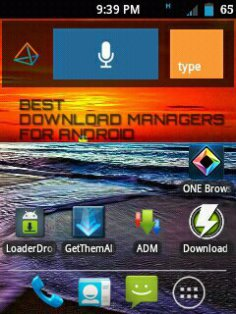 Download Managers for Android
