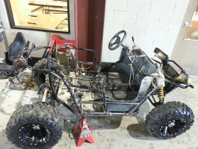Rzr 170 Frankenstein Build