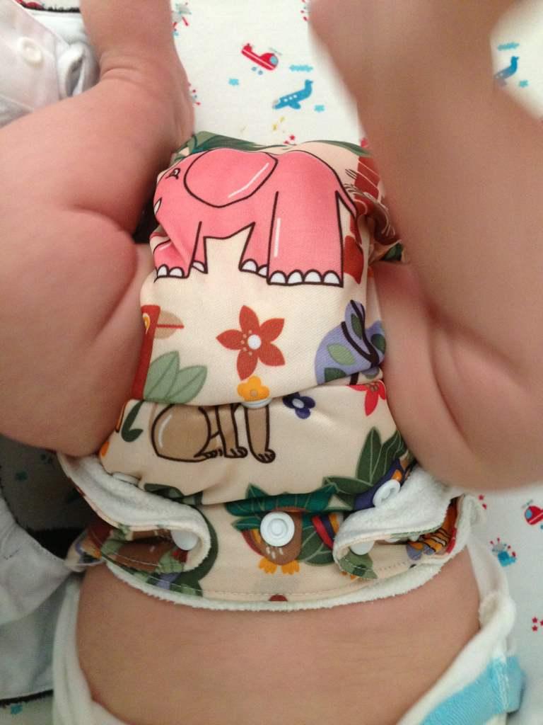 hoe ziet uitslag baby te lang luier aan