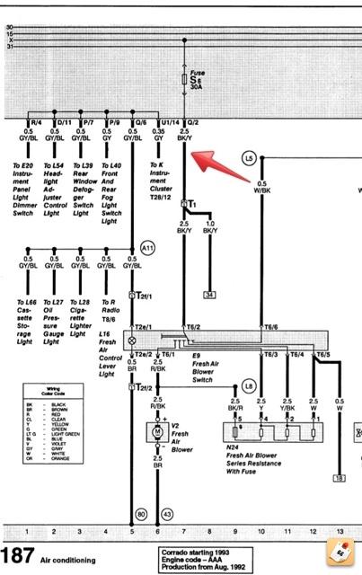 Wiring Question - 93 vr6 | VW Vortex - Volkswagen Forum | Vr6 Wiring Diagram |  | VW Vortex