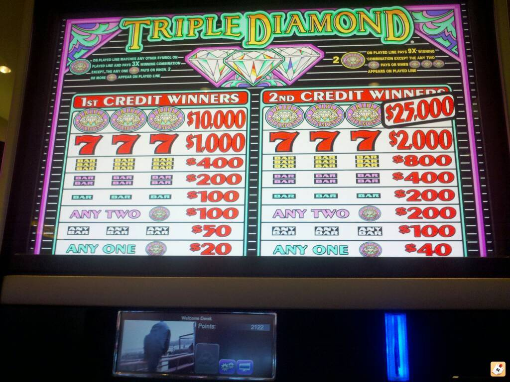 Triple diamond slots machines gulfport ms casino