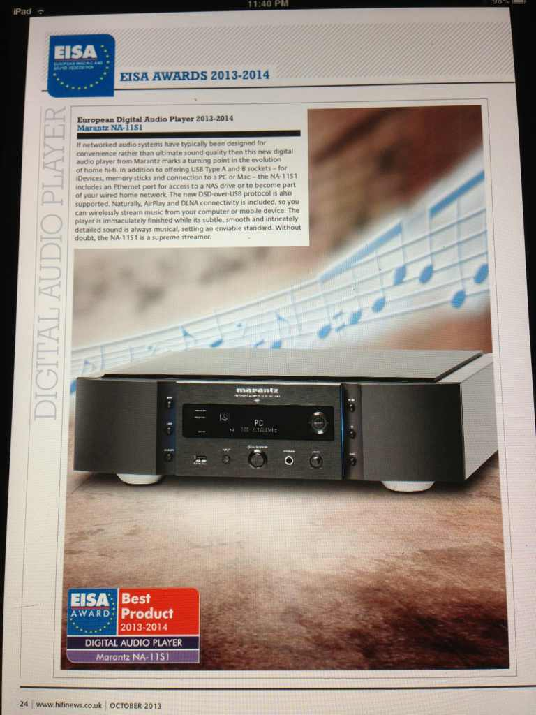 Marantz Na 11s1 Reference Network Audio Player And Dac Review Sc Preamplifier Archive Audioshark Forums