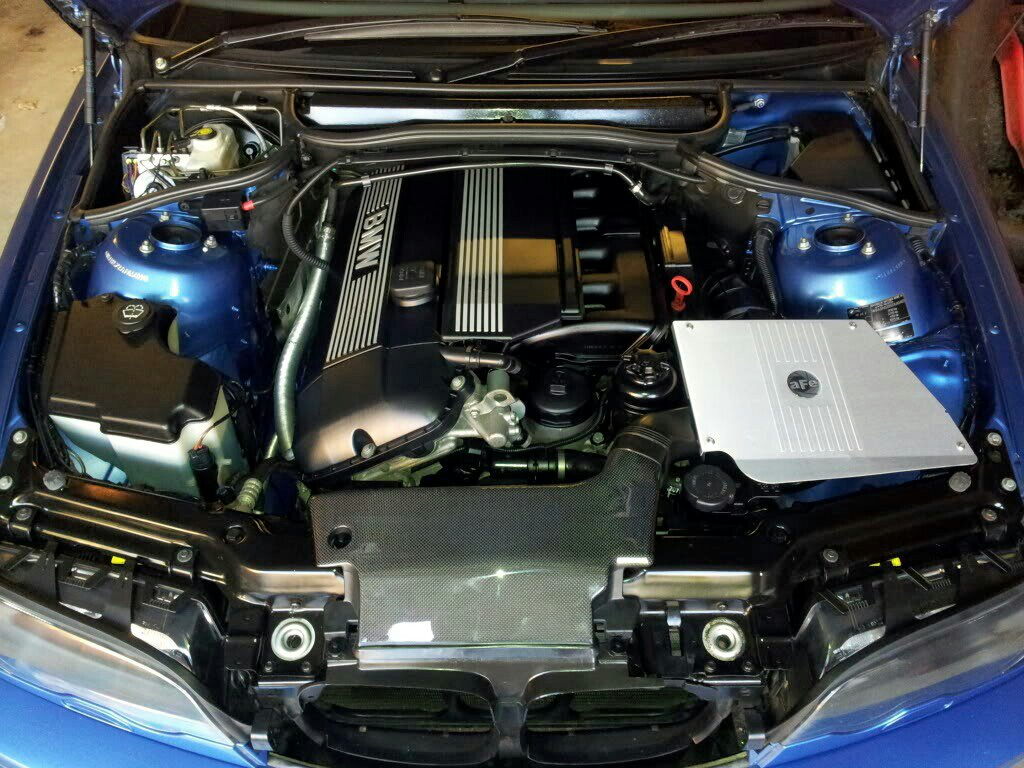 Making The Engine Bay Look A Bit Better Exterior Styling E46