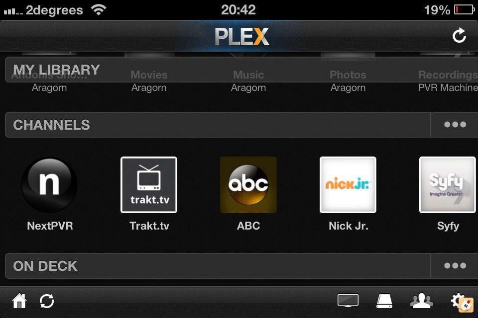 Plex Channel for NextPVR