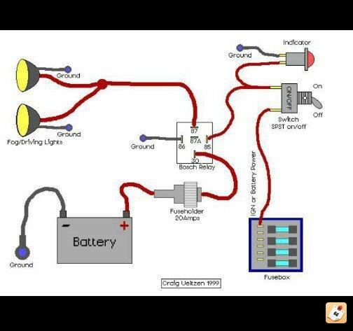 wiring light bar kawasaki teryx forum here s a pretty easy schematic