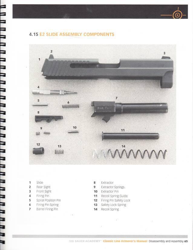 Sig armorer's manual(free) - SIG Talk