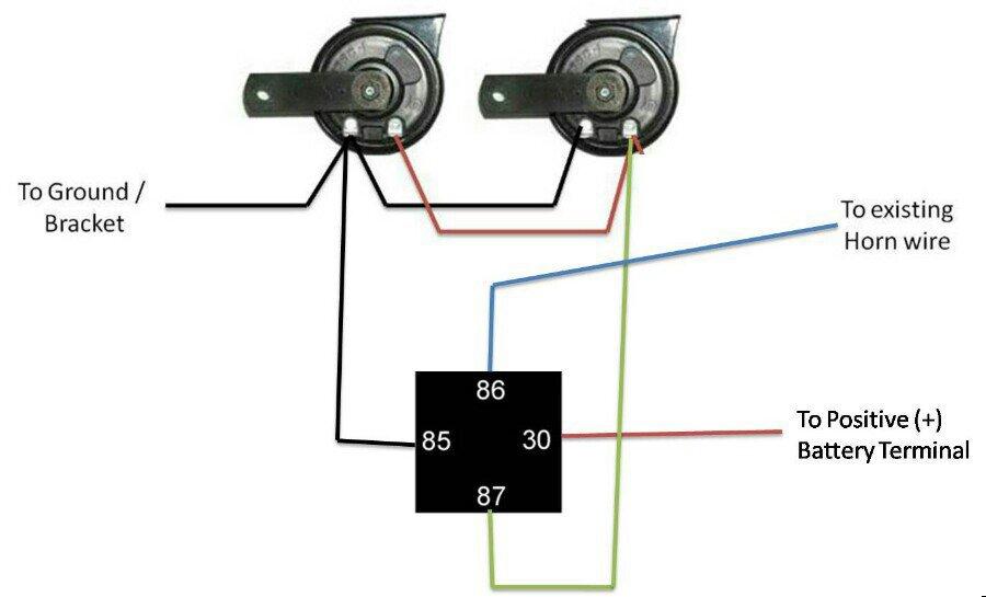 Amazing horn relay wiring diagram photos electrical and wiring charming horn relay wiring diagram photos electrical and wiring asfbconference2016 Images