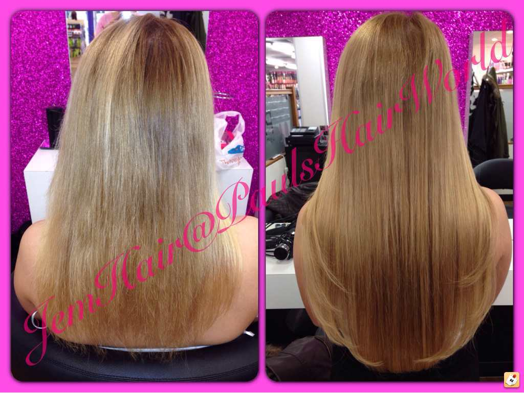 Before and after hair extensions page 45 salongeek 20 micro rings 16 and 20 sjk lux pmusecretfo Images