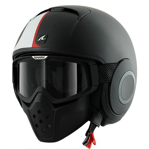 I ve always had Arai full face helmets in the past but I thought this  helicopter gunship pilot style helmet looked really cool. This style never  existed ... 2fe2debb3884