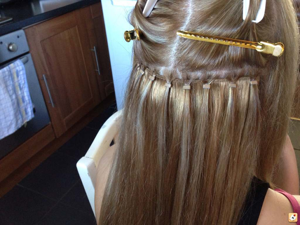 How To Put Micro Ring Hair Extensions In The Best Hair 2017