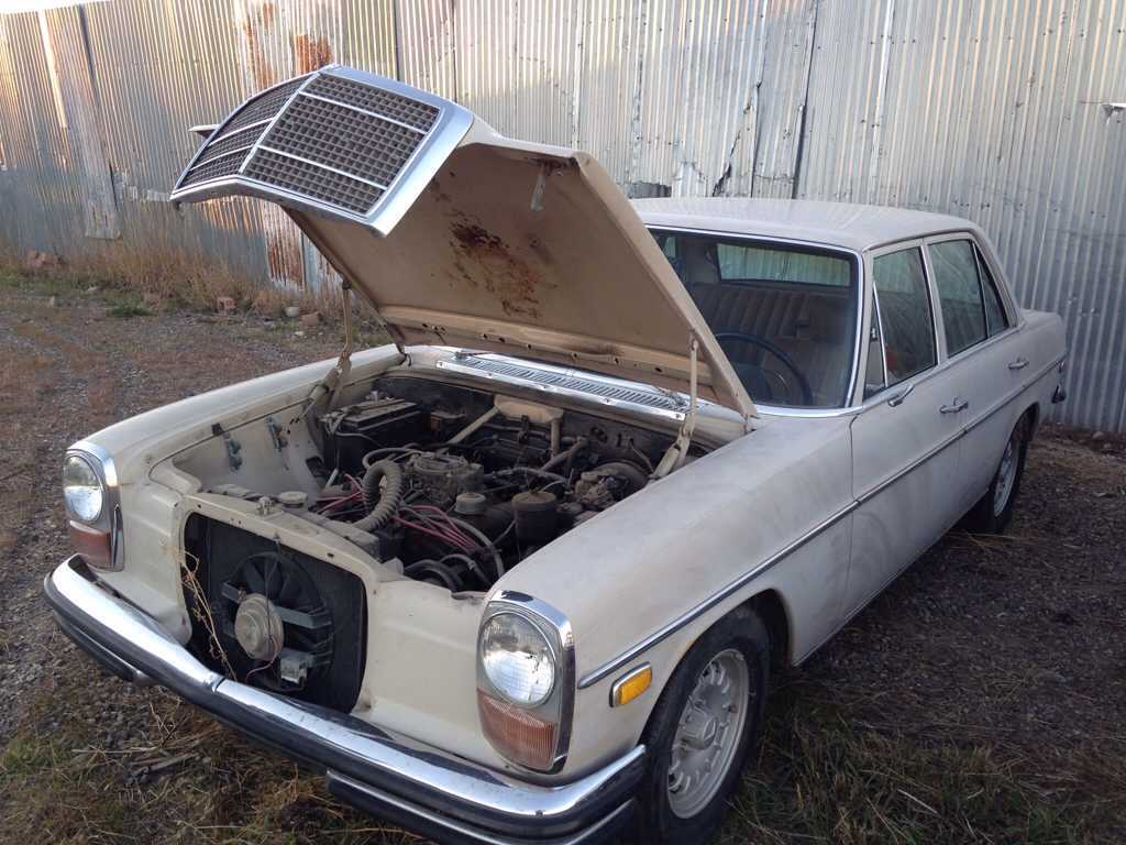 VWVortex com - Well guys, I did it again  SBC powered W114 Benz