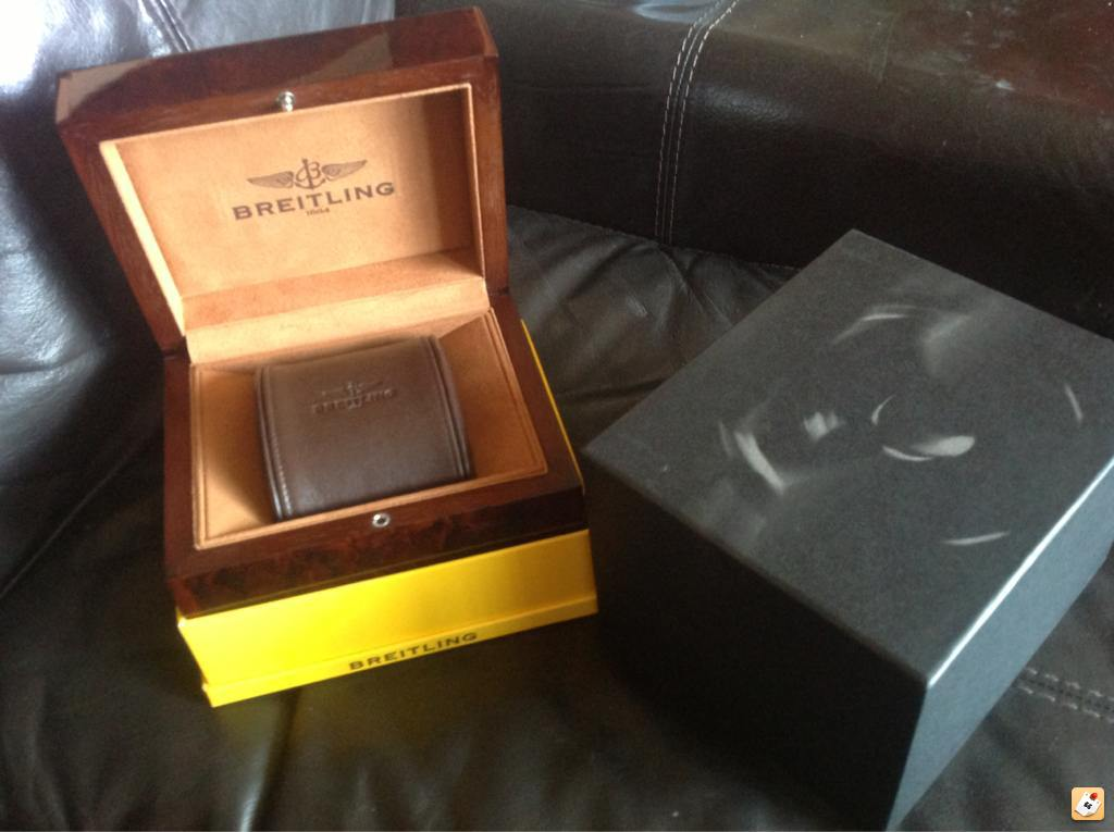 Standard Breitling Box (£80 + postage) ... & Revised prices on Breitling Watch Box Collection Aboutintivar.Com