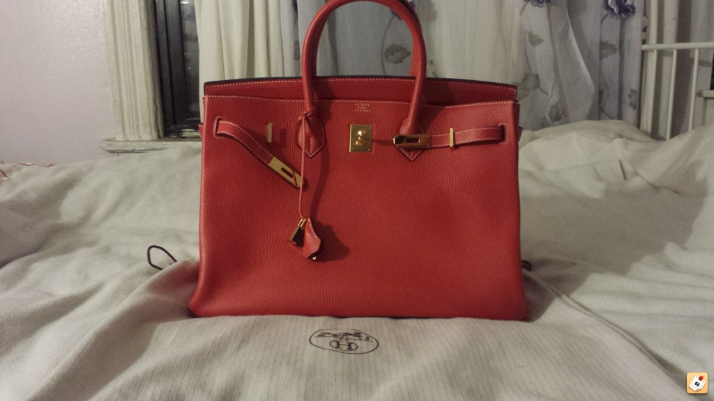 long purse - Purse Princess: Replica Hermes Birkin 40 Red w/Gold HDW