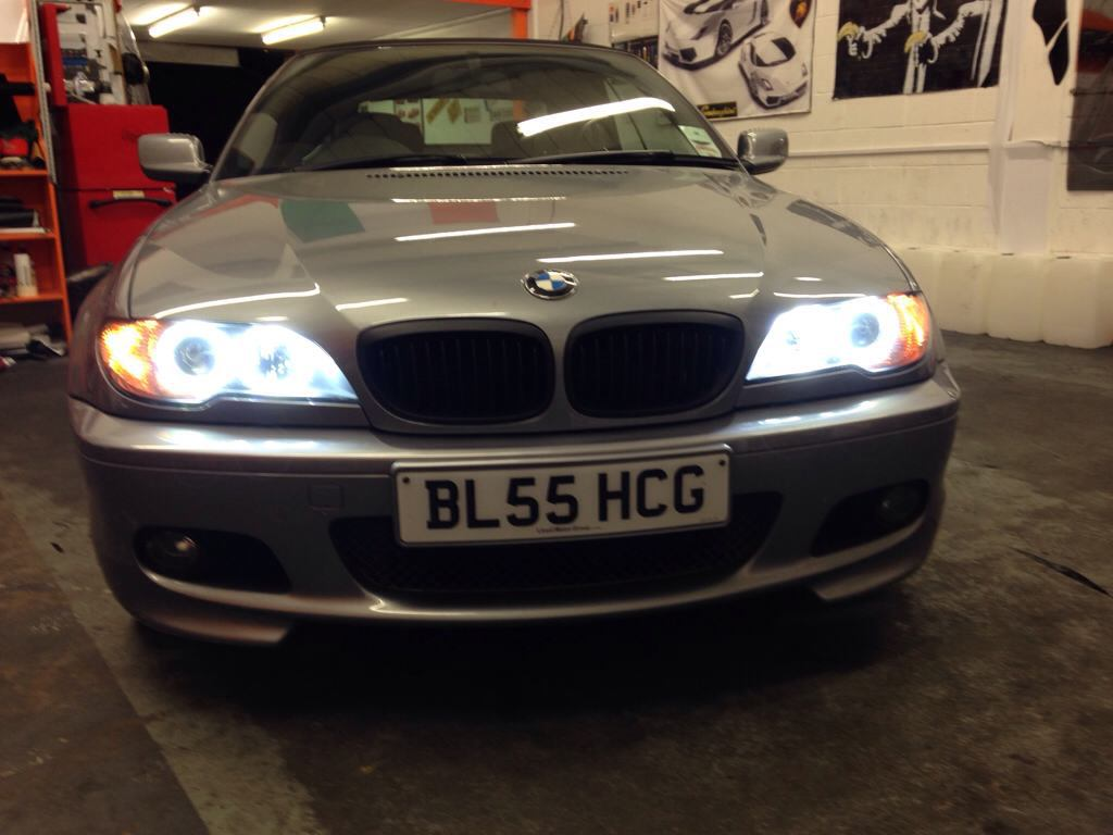 The Best Quality And Easiest Angel Eyes Exterior Styling E46 E46zone