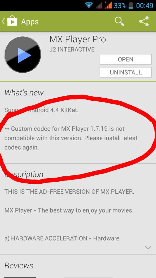 Mx player ac3 codec android