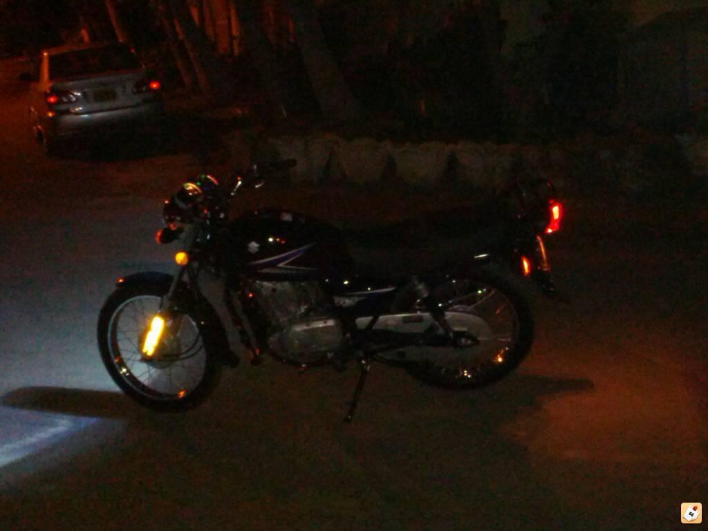 My brand new Suzuki GS150 (2014 model) - ahe7uham