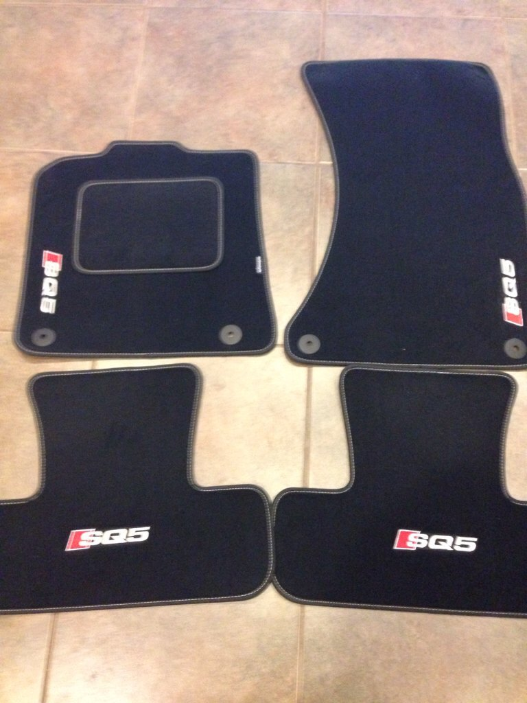 Weathertech floor mats audi q5 - Just Received My Floor Mats From Autostyle And They Never Cease To Impress Me With Their Quality And Fit I Know These Aren T All Weather But I Wanted To