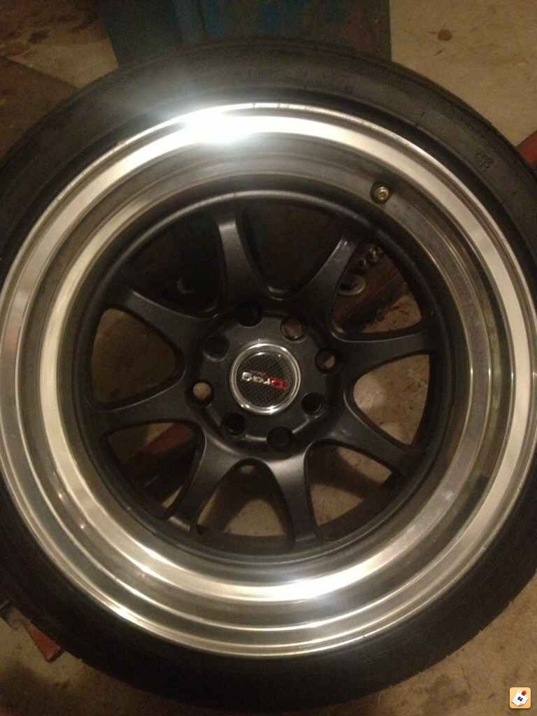 Thread 15x8 25 Drag Dr 54 Wheels With Tires In Ct