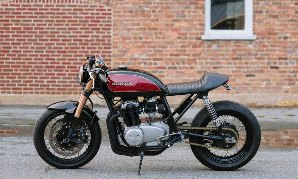 Cognito Moto CB750 Cafe With GSX R Forks