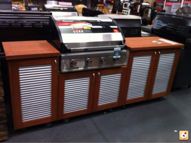 Delicieux Bbq Cabinet