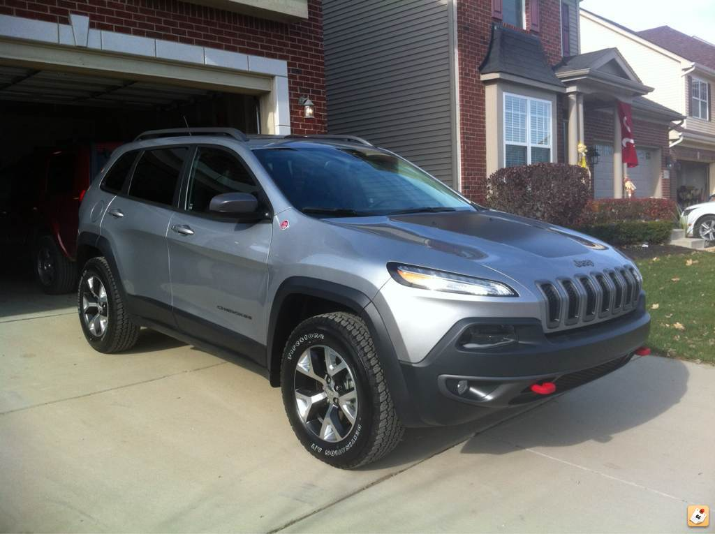 Proud Owner Of A New 2014 V6 Cherokee Trailhawk Jeep