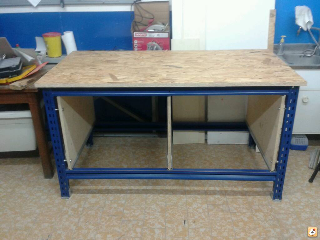 Banchi Da Lavoro Per Elettronica : Tavolo da lavoro altezza: banco da lavoro master cut 1500 almanacco