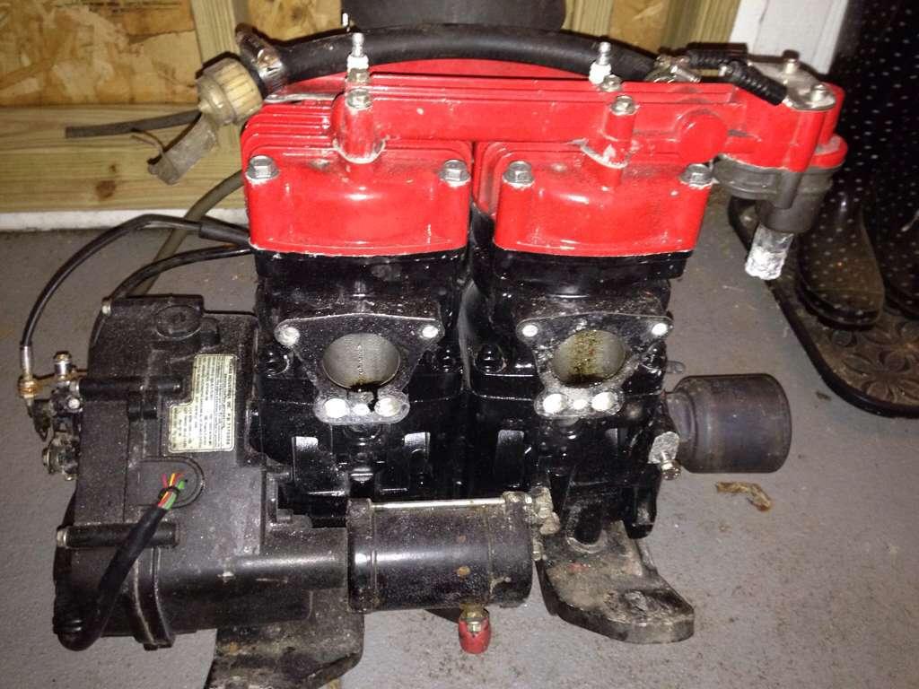 equ6yjy3 low hr polaris 700 hurricane virage sl slh sbt motor complete ready