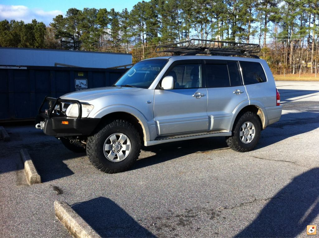 new additions to my gen3 archive expedition portal - Mitsubishi Montero 2003 Lifted