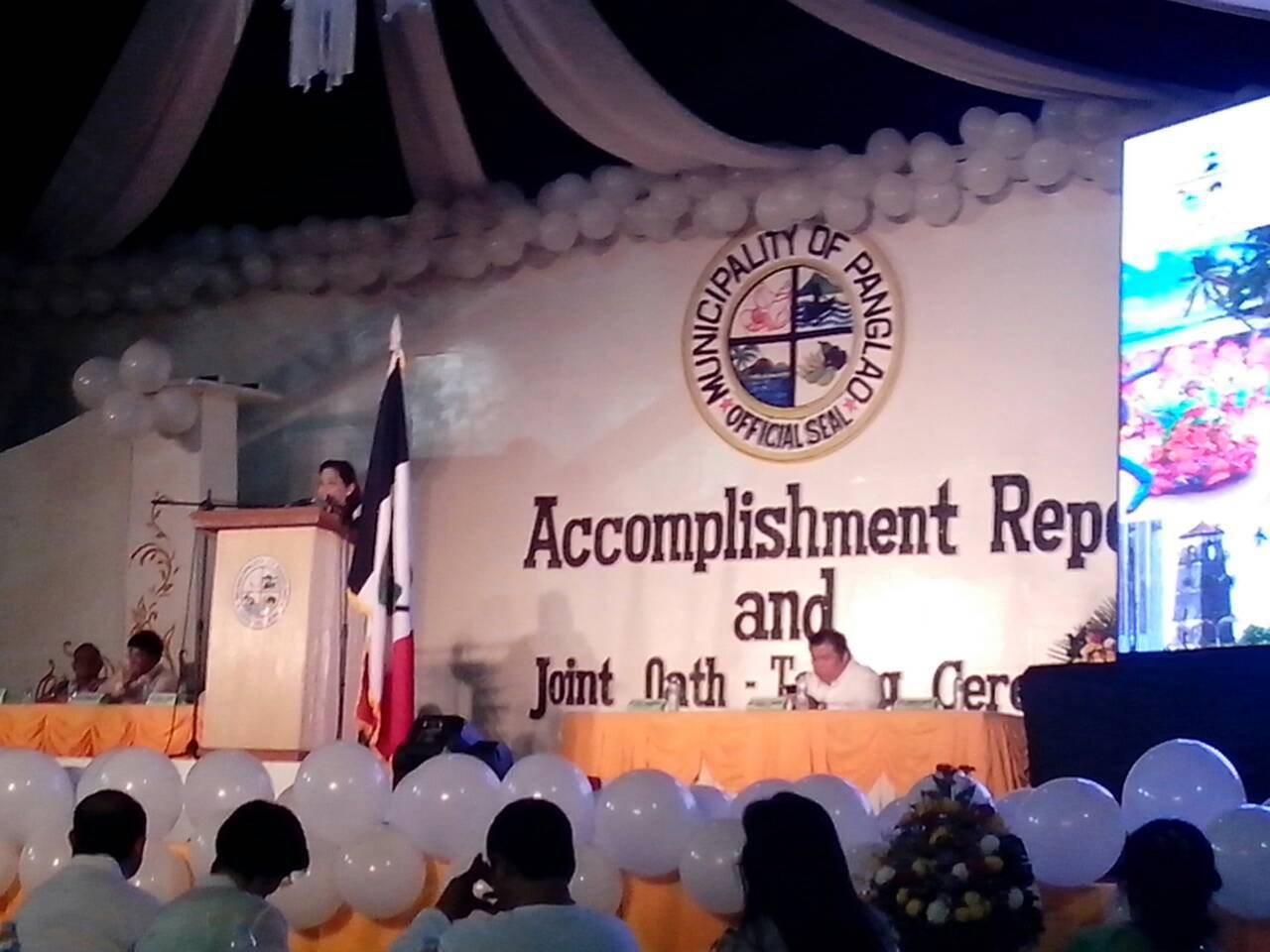proxy - Panglao Joint-Oath Taking - First District of Bohol