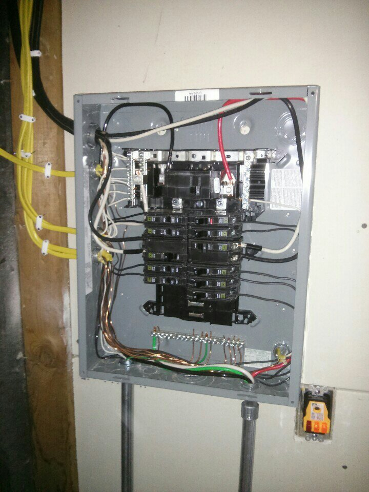 Critique My Electrical Before Inspection [Archive] - The Garage ...