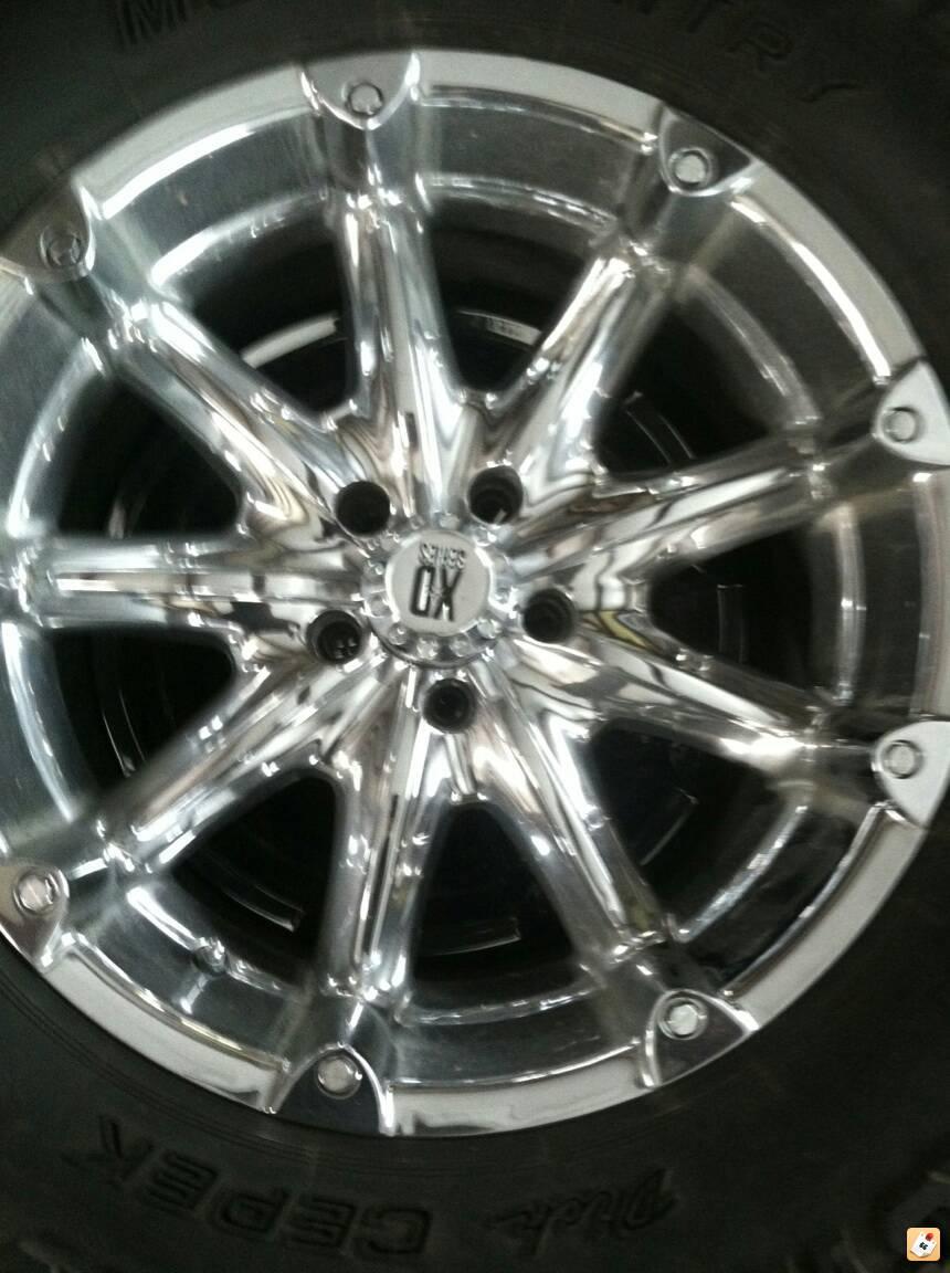 wheels dick cepek chrome