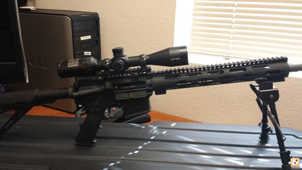 Bushnell 4.5-18x40 AR 223 BDC rifle scope