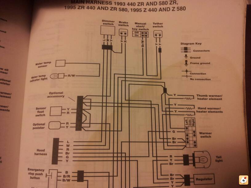 [SCHEMATICS_43NM]  95 ZR 580 Wiring | Arctic Cat Forum | Arctic Cat 600 Efi Wiring Diagram |  | Arctic Cat Forum