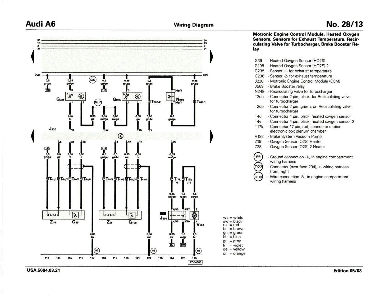 Project Snow White S6 Thread Archive Audizine Forums Wiring Diagram 2004 Vw Passat Turbo Intercooler 1997 Toyota