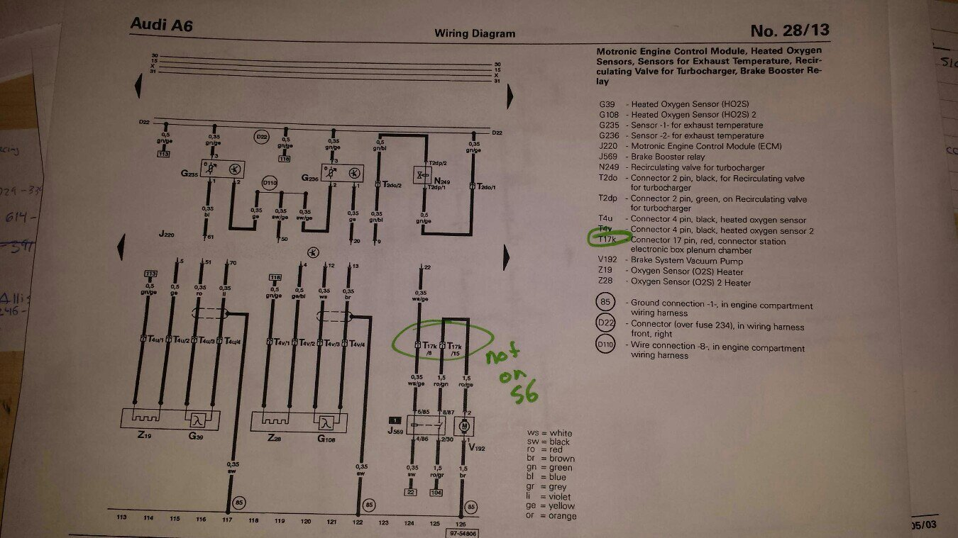 Project Snow White S6 Thread Archive Audizine Forums Wiring Diagram 2004 Vw Passat Turbo Intercooler 1997 Toyota