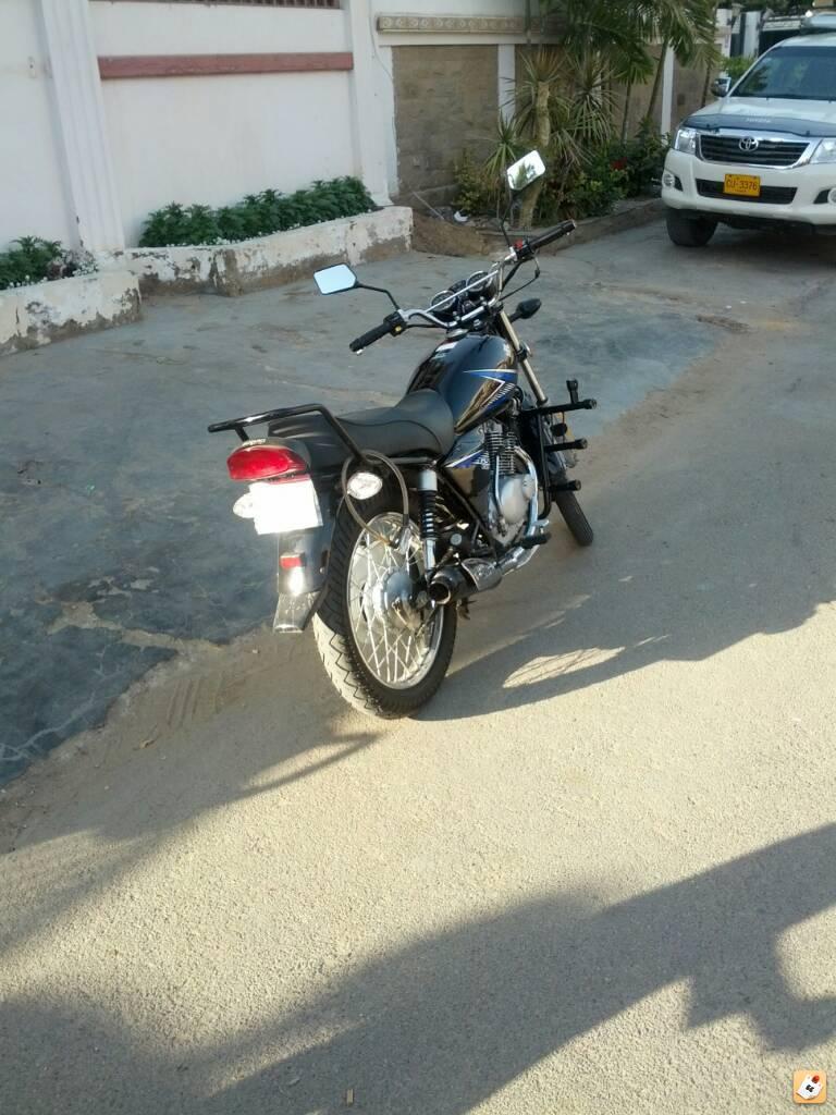 My brand new Suzuki GS150 (2014 model) - gubypera