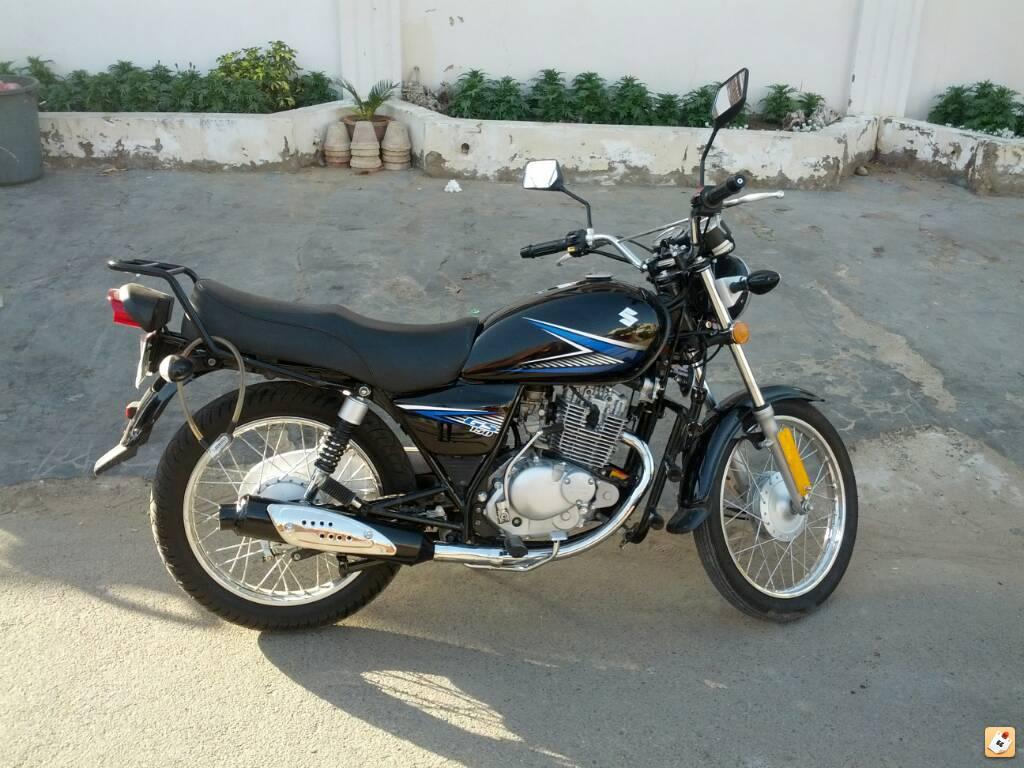 My brand new Suzuki GS150 (2014 model) - yse2yrut