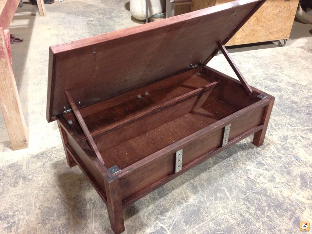 plans coffee table gun cabinet