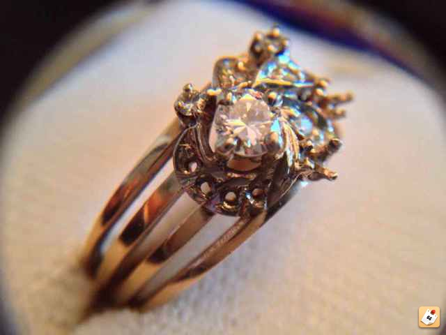 14K Gold Ring stamped with a triangle - Friendly Metal Detecting Forums
