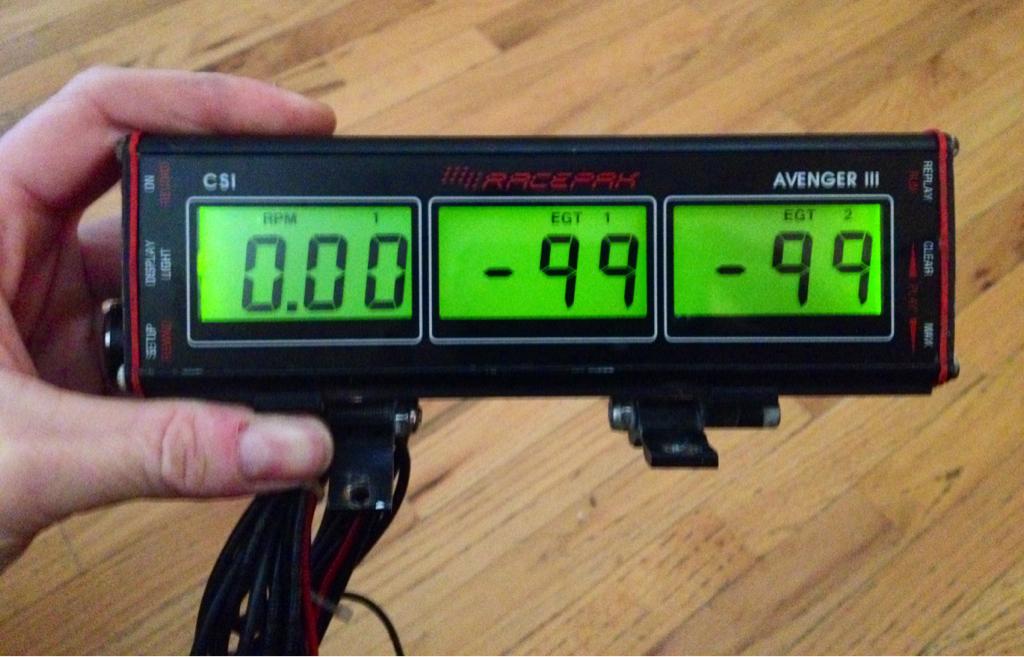 FS Racepak Avenger 3 - EGT Recording System