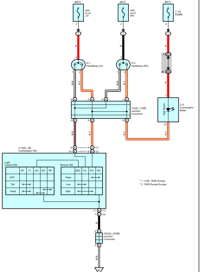 newhilux net u2022 view topic spotlight wiring rh newhilux net 12V LED Wiring Diagram Alternator Wiring Diagram