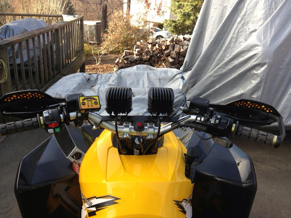 Led light bar mount??? - Renegade discussion - can-am ATV Forums ...