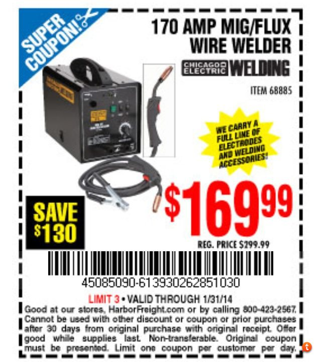 Harbor Freight Coupon Thread [Archive] - Page 18 - The Garage ...
