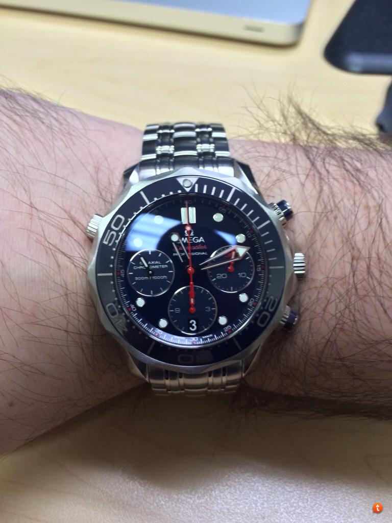 Omega Seamaster Diver 300m Chronograph 41.5 Mm