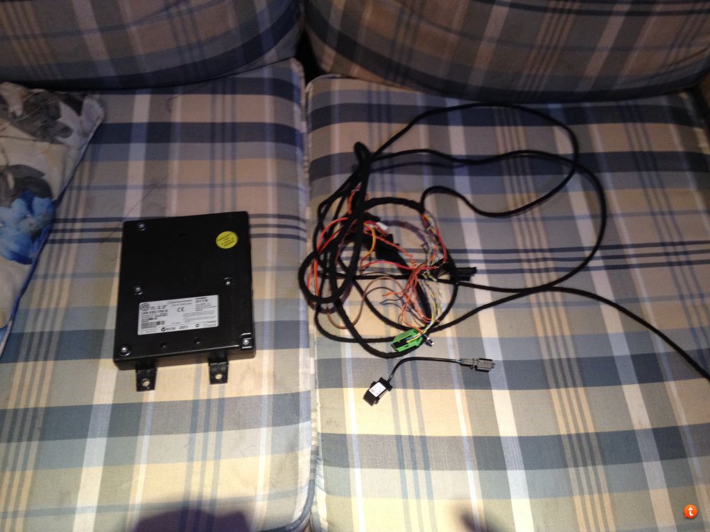 What Wiring Is Needed To Add 9w2 Bluetooth Tdiclub Forums Ipad Harness Sent From My Using Tapatalk