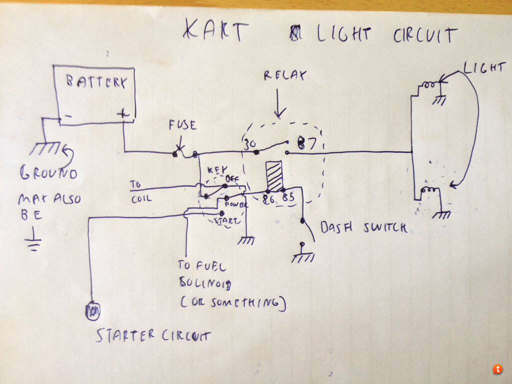 Duromax Electric Start Wiring Diagram Books Of Go Kart Wire Battery And Lights Archive Diy Forum Rh Diygokarts Com 18hp