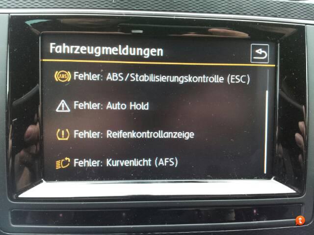 Fehlermeldung -es leuchtet wie auf Heiligabend - Technik - VW Golf 7 ...